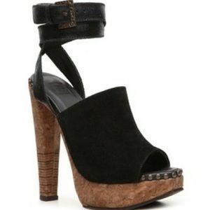 Herve Leger Frida cork heels size 39